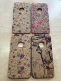 Husa iPhone 6 6S TPU Ultra Slim Flower, iPhone 6/6S, Maro, Gel TPU, Apple