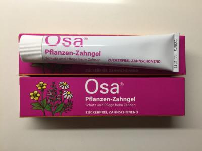 Osa Gel (Osanit Gel) - Gel homeopat calmare dureri dentare la bebelusi - 2022 foto