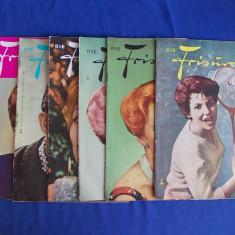 LOT 6 REVISTE FRIZURI ( DIE FRISUR ) - LEIPZIG - 1962/1964