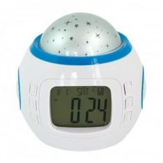 Ceas cu alarma si proiector stele - Ceas cu proiectie