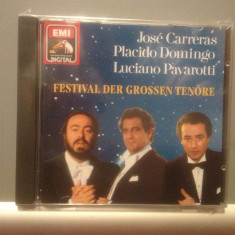 CARRERAS/DOMINGO/PAVAROTTI - FESTIVAL(1990/EMI REC/GERMANY) - cd nou/sigilat - Muzica Clasica emi records