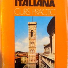 LIMBA ITALIANA.CURS PRACTIC-MARITINA GHERMAN BUCURESTI 1978 - Carte in alte limbi straine