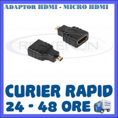 ADAPTOR HDMI MAMA - MICRO HDMI TATA - PT. CAMERA SPORT SJCAM, GOPRO
