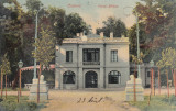 CRAIOVA  PARCUL BIBESCU  TERASA  FLORILOR  RESTAURANT- BERARIE  CIRCULATA  1905