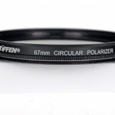 Filtru 67mm Tiffen Polarizare Circulara USA - Filtru foto, 60-70 mm