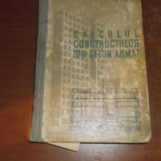 CALCULUL CONSTRUCTIILOR DIN BETON ARMAT