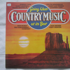 Various ‎– Going West (Country Music At It's Best) _ vinyl(LP) Germania - Muzica Country Altele, VINIL
