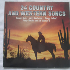 Various - 24 Country And Western Songs _ vinyl(dublu LP) Germania - Muzica Country Altele, VINIL