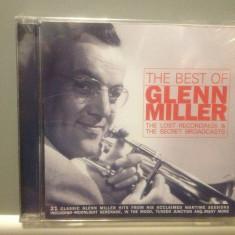 GLENN MILLER - THE BEST OF (1997 / BMG ARIOLA REC/ GERMANY) - CD NOU/SIGILAT
