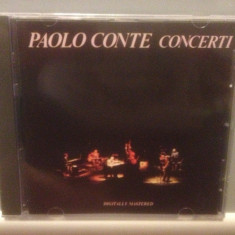 PAOLO CONTE - CONCERTI (1989/WARNER /WEST GERMANY ) - CD NOU/SIGILAT - Muzica Rock