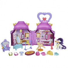 Set de Joaca My Little Pony Booktique - Poneiul Rarity - Figurina Povesti Hasbro