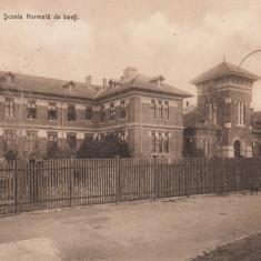 CRAIOVA , SCOALA NORMALA  DE BAIETI , TCV , CIRCULATA MAR. ''913, Printata