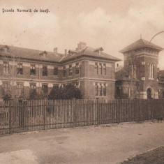 CRAIOVA, SCOALA NORMALA DE BAIETI, TCV, CIRCULATA MAR. ''913 - Carte Postala Oltenia 1904-1918, Printata