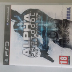 Alpha protocol PS3 - Jocuri PS3 Sega, Arcade, 16+, Single player
