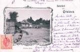 SALUTARI DIN CRAIOVA FANTANA JIANU CLASICA  TCV  CIRCULATA MAR. 1900 LITHOGRAFIE, Printata