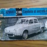 RENAULT R.1095 - Conduite et Entretien - 51 p.; lb. franceza