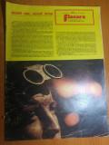 """revista flacara 5 aprilie 1975-""""bucurestiul cel mai cunoscut oras necunoscut"""""""