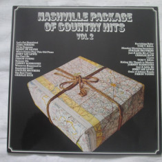 More Images Various ‎– Nashville Package Of Country Hits Vol 2 _ vinyl(LP) - Muzica Country Altele, VINIL