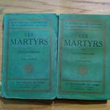 LES MARTYRS - Chateaubriand ( Francois-Rene de ) - 2 vol., Paris - Filosofie