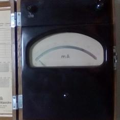 Aparat de masura imens vechi rar de colectie anii 50 functional - Multimetre