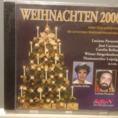 CHRISTMAS NIGHT 2000 - Pavarotti ...(2000 /adler REC /Germany) - CD NOU/SIGILAT - Muzica Clasica Altele