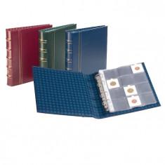 Clasoar Optima M12K cu 10 foi pentru cartonase de monede - album clasor