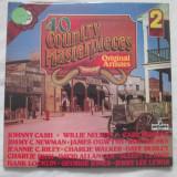Various – 40 Country Masterpieces _ vinyl(dublu LP) UK