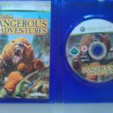 Cabelas Dangerous Adventures Xbox360, Actiune, 12+, Single player