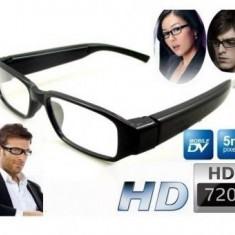 Ochelari spion camera video FULL HD cu lentila nedetectabila - Gadget supraveghere