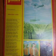 Revista flacara 25 ianuarie 1975 -articol si foto cartierul pantelimon