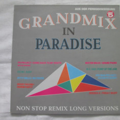 Various ‎– Grandmix In Paradise _ vinyl(LP) Germania - Muzica House Altele, VINIL
