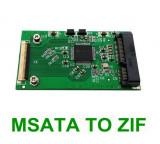 Adaptor convertor SSD mSATA la interfata ZIF / CE 40pin pentru laptop, IPOD, PAD