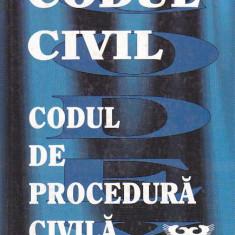 CODUL CIVIL CODUL DE PROCEDURA CIVILA CU MODIFICARILE PANA LA 15.02.1999