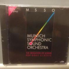 MUNICH SYMPHONIC SOUND ORCH - POP GOES (1988/POLYSTAR REC /RFG) - CD NOU/SIGILAT - Muzica Clasica universal records