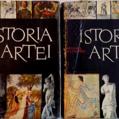 ISTORIA ARTEI- MIHAI ALPATOV, ARTA LUMII VECHI SI A EVULUI MEDIU/ARTA RENASTERII SI A EPOCII MODERNE- VOL.I-II, BUC. 1967 - Carte Istoria artei