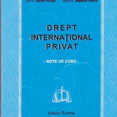 ADRIAN PRICOPI, AUGUSTIN FUEREA - DREPT INTERNATIONAL PRIVAT - Carte Drept international
