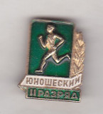 Bnk ins URSS - insigna sportiva - Sportiv categoria II - tineret