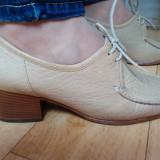 Pantofi din piele firma SIOUX marimea 38,5! Sunt  noi
