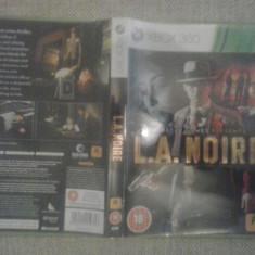 LA NOIRE - Joc XBOX 360 ( GameLand ) - Jocuri Xbox 360, Actiune, 18+, Multiplayer