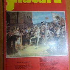 Revista flacara 24 mai 1975  - 375 de ani de la prima unire a tarilor romane