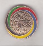 Bnk ins URSS insigna Festivalul International de Film Moscova 1983