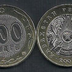 KAZAHSTAN KAZAKSTAN KAZAKHSTAN 100 TENGE 2004 [1] XF++, Liv in cartonas KM39, Asia, Cupru-Nichel