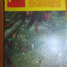Revista flacara 31 mai 1975- ceausescu la aiud si alba iulia si art. gura teghii