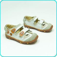 NOI, DE FIRMA _ Pantofi comozi, aerisiti, piele, de calitate, S. OLIVER _ nr. 29 - Pantofi copii, Culoare: Din imagine, Baieti, Piele naturala