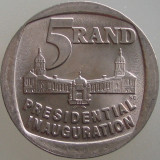 "AFRICA DE SUD KM#150 - 5 Rand 1994 UNC ""Presidential inauguration"""