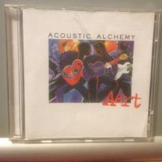 ACOUSTIC ALCHEMY - AART (2001 /VIRGIN REC/ RFG ) - CD/ORIGINAL/ JAZZ - Muzica Jazz virgin records