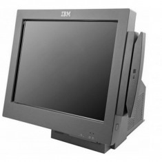 Sistem POS IBM 4846-565, Intel Celeron 2.53Ghz, 2Gb DDR2, 80Gb HDD, Display 15 inch TOUCH SCREEN - Cititor coduri de bare
