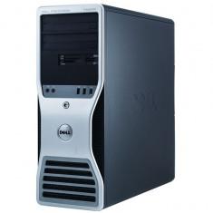 Workstation Dell T5500, 1 x Intel Xeon E5645 Six Core 2.4Ghz, 12Mb cache, 24GB DDR3, 2TB, Video Quadro4000 2GB GDDR5, DVD-RW - Sisteme desktop fara monitor
