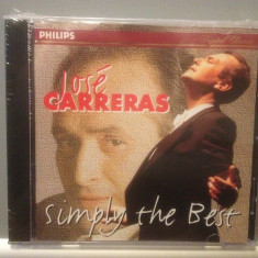 JOSE CARRERAS - SIMPLY THE BEST (1988/PHILIPS REC/ GERMANY ) - CD/SIGILAT/NOU, universal records