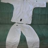 Kimono (gy, Ghi) de Karate / judo, bumbac, marime 00/140